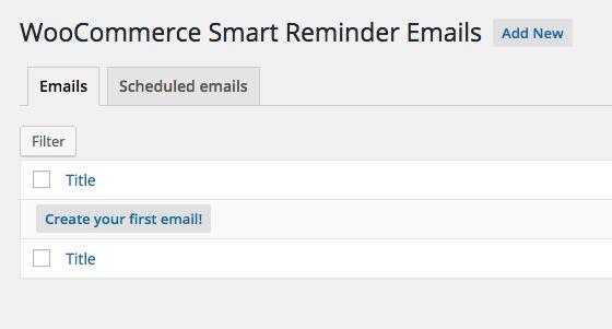 WooCommerce Smart Reminder Emails